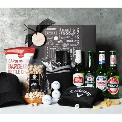 Beer, Golf and Nibbles Hamper