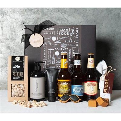 Beer, Treats & Pamper Hamper