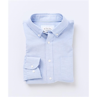 CASUAL OXFORD SHIRT Sky Blue 4XL