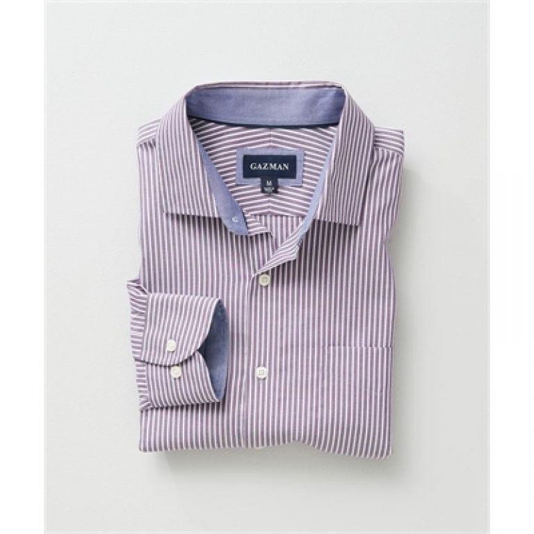 EASY CARE OXFORD STRIPE Mauve XXL