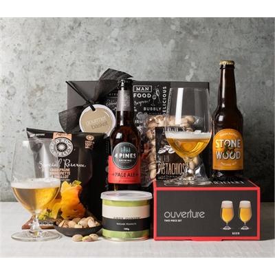 Mini Beer and Glasses Hamper