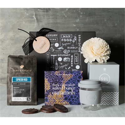 Reuseable Coffee Cup Hamper