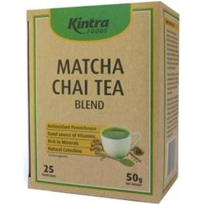 Kintra Foods Matcha Chai 25Teabags