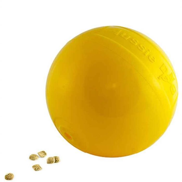 Aussie Dog Tucker Ball - Food Dispensing Dog Toy for Large Dogs over 30kg
