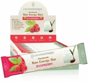Coconut Magic Raw Energy Bars Raspberry 12x45g