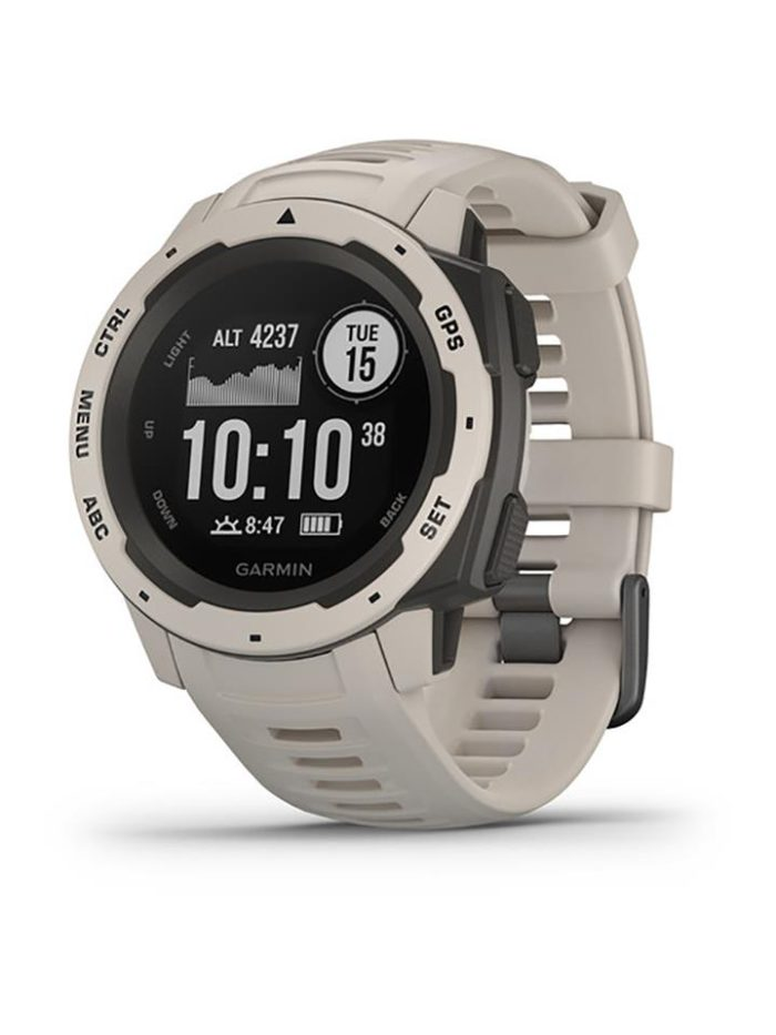 Garmin Instinct GPS Watch Tundra