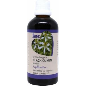 Love-Oils-Organic Black Cumin Seed Oil 100ml