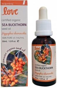 Love Oils Organic Sea Buckthorn Seed Oil 30ml