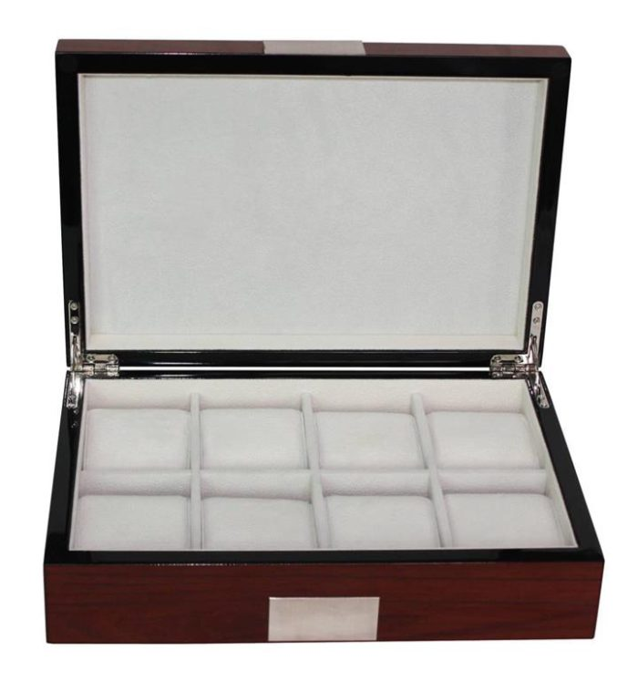 Luxury wooden watch box rosewood executive series for large watches