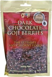 Naturally Goji Dark Chocolate Goji Berries 300gm