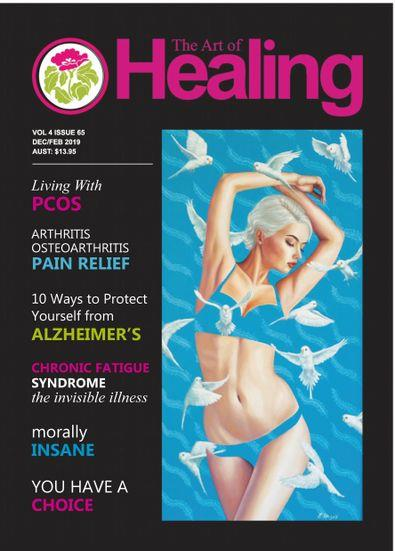 The Art Of Healing Magazine 12 Month Subscription