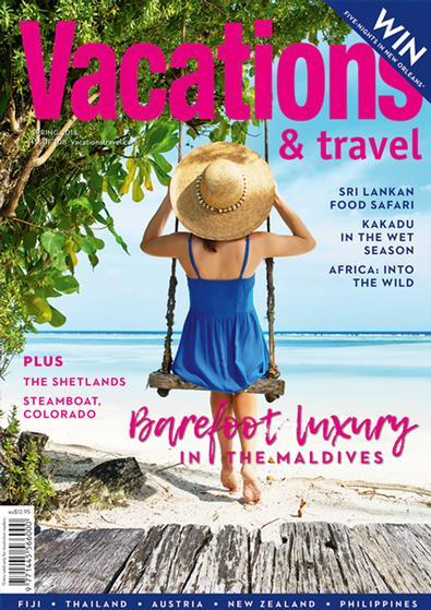 Vacations & Travel Magazine 12 Month Subscription