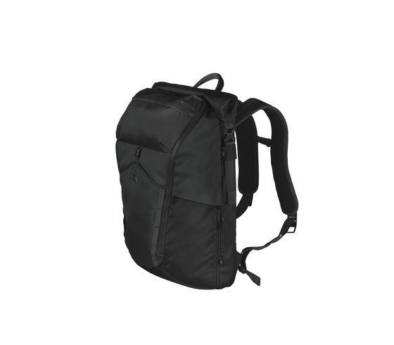 Victorinox Deluxe Rolltop Laptop Backpack - Black