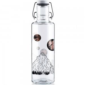 soulbottles Glass Water Bottle 0.6L - Sky Is Not The Limit