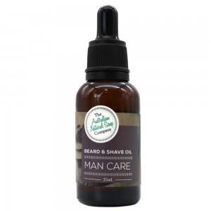 Australian Natural Soap Company Man Care Beard & Shave Oil