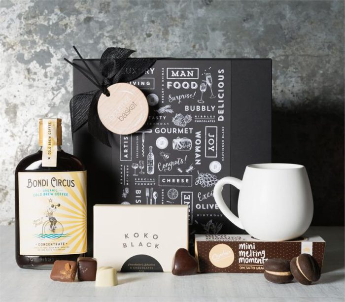 Organic Cold Brew Coffee and Chocolate Hamper