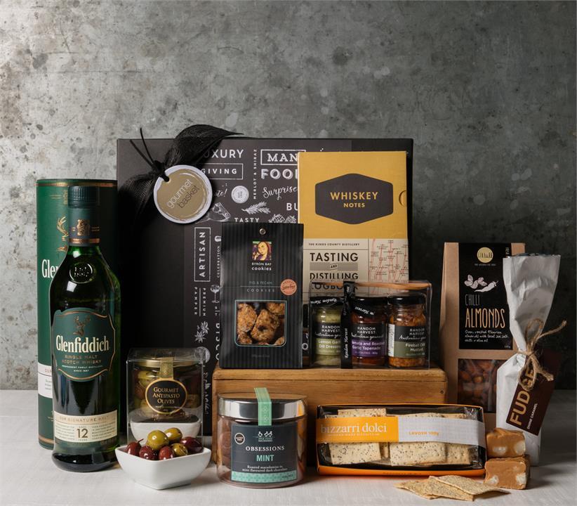 Premium Whisky and Gourmet Hamper