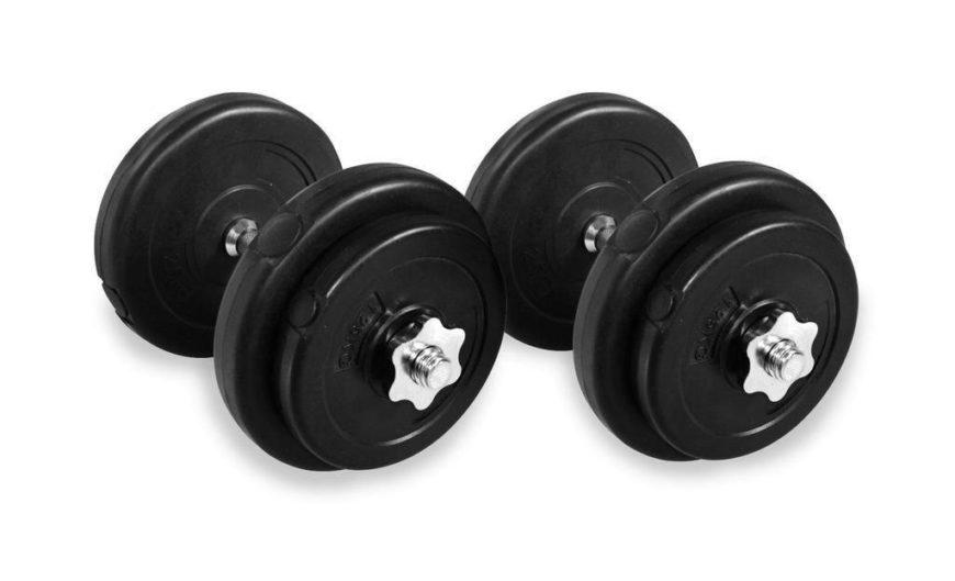 20KG Dumbbell Adjustable Weight Set