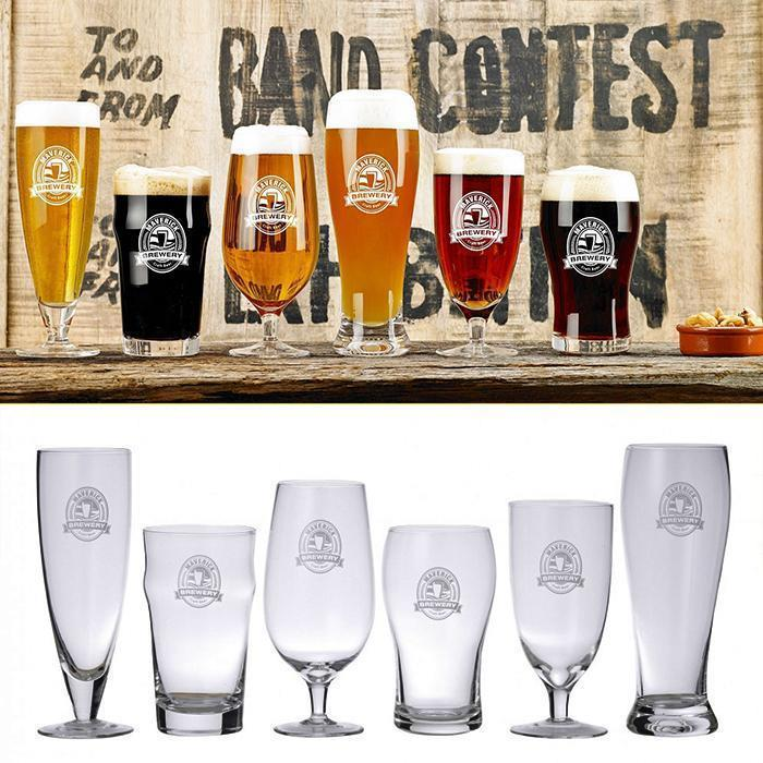 6 Piece Beer Connoisseur Glass Set